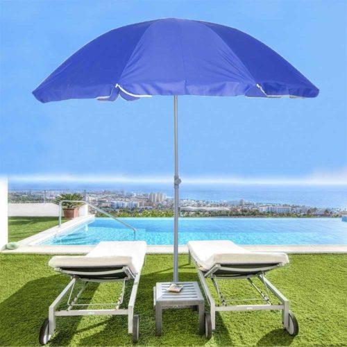 Portable Beach Umbrella Foldable Shade