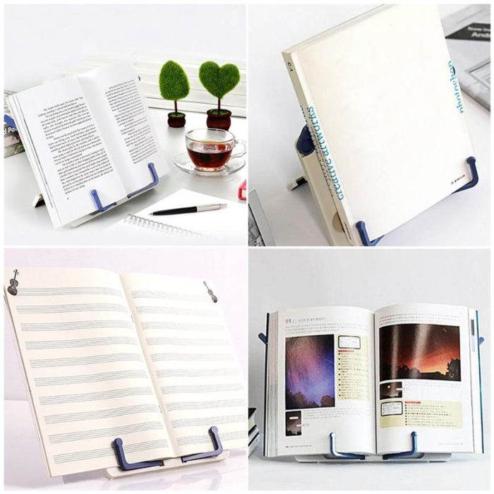 Book Holder for Desk Reading Stand