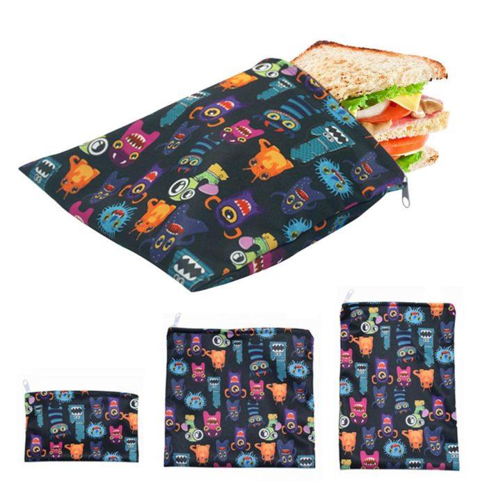 Reusable Snack Bag Sandwich Pouch