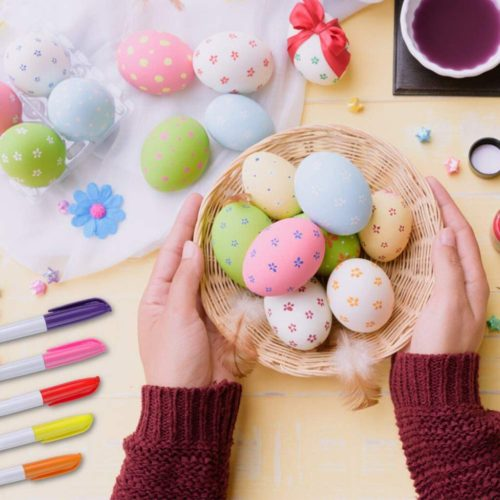 DIY Easter Eggs (50pcs) with Color Pens