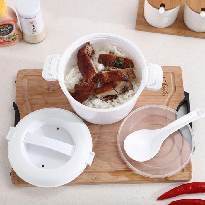 Microwave Rice Steamer Multi-Cooker