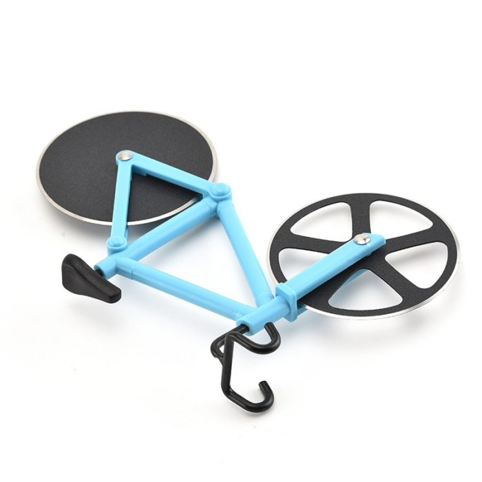 Bicycle Pizza Cutter Roller Knife
