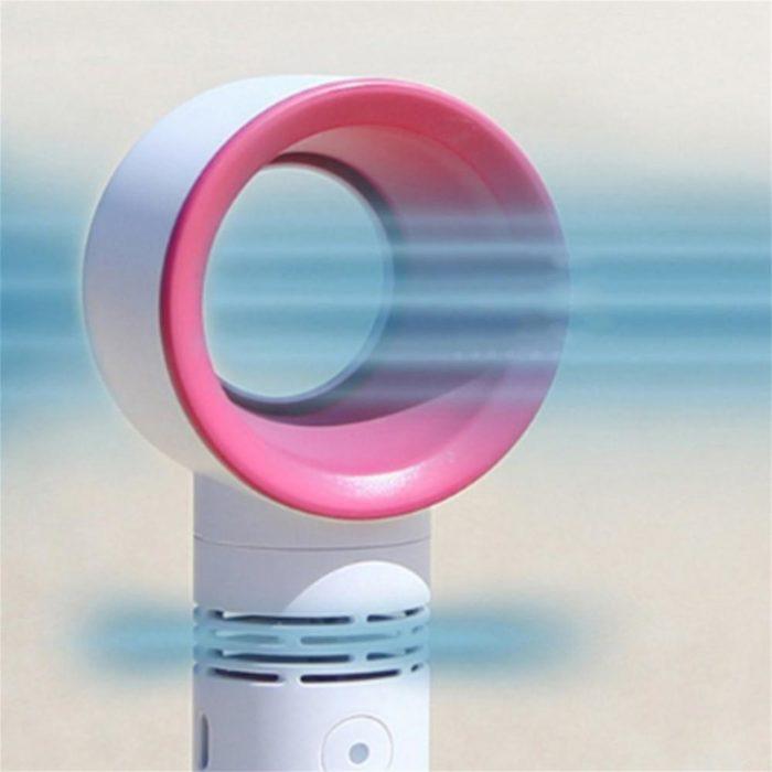 Fanless Fan USB Handheld Cooler