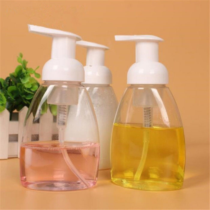250ml Plastic Soap Dispenser Pump Bottle