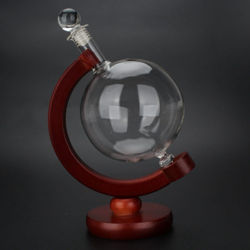 Whiskey Dispenser Glass Globe Pourer