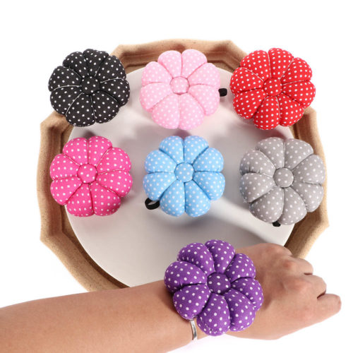 Pin Cushion Sewing Wrist Needle Holder