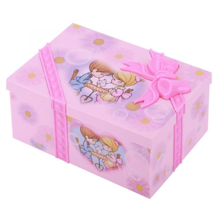 Music Jewelry Box Storage Organizer