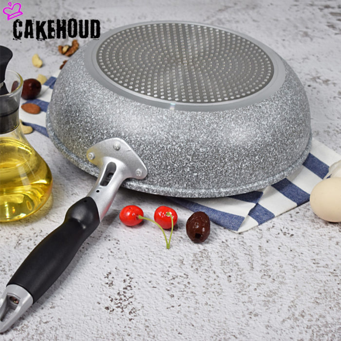 Deep Frying Pan Nonstick Cookware