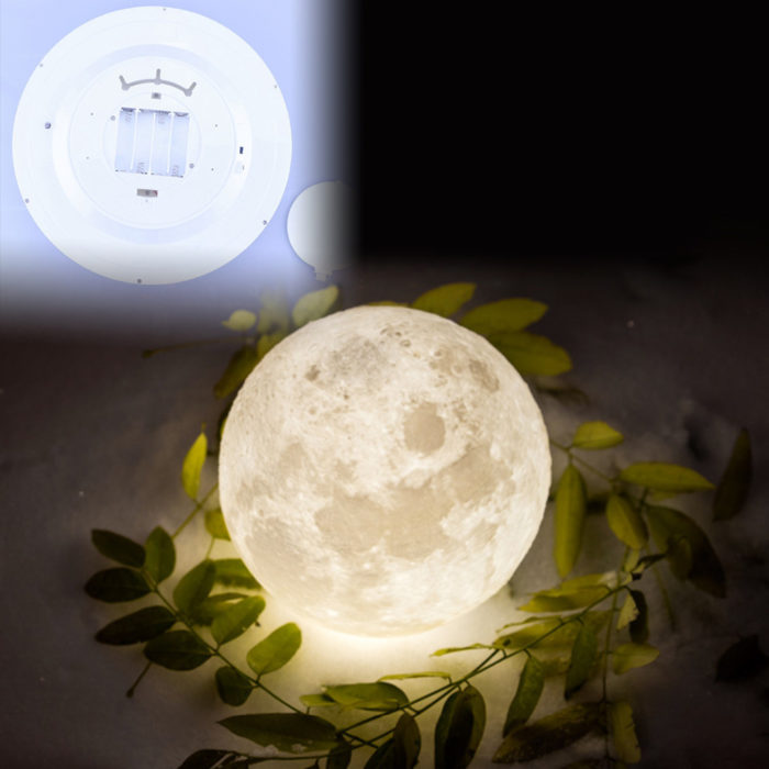 Moon Wall Light with Remote Control
