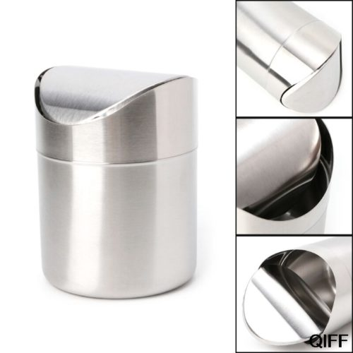 Steel Dustbin Desk Trash Can