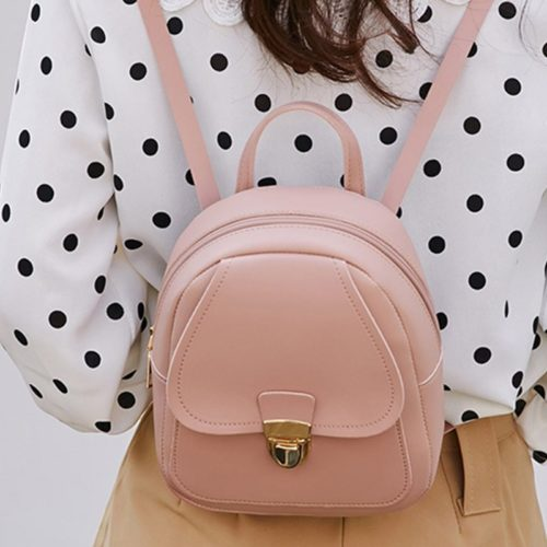 Mini Backpack For Women Leather Bag