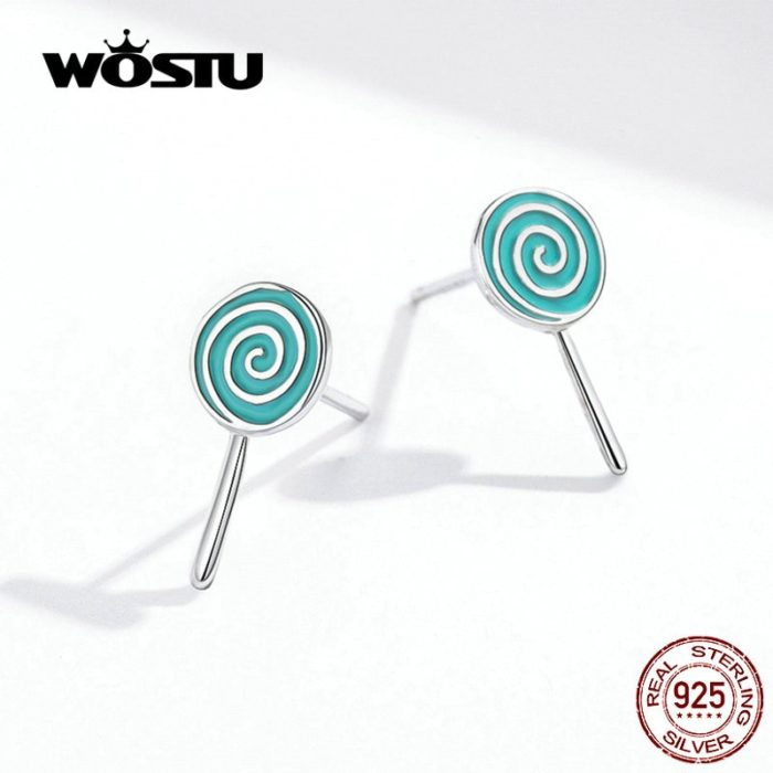 Lollipop Earrings Cute Stud Earrings