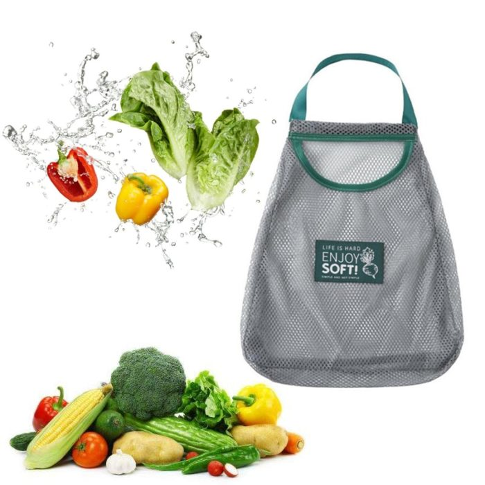 Mesh Vegetable Bag Washable and Reusable