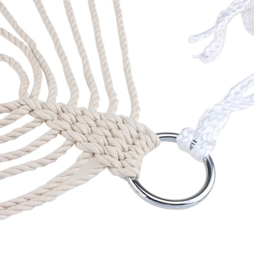 Rope Hammock Outdoor Cotton Swing
