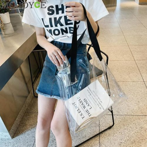 PVC Tote Bag Waterproof Fashion Bag