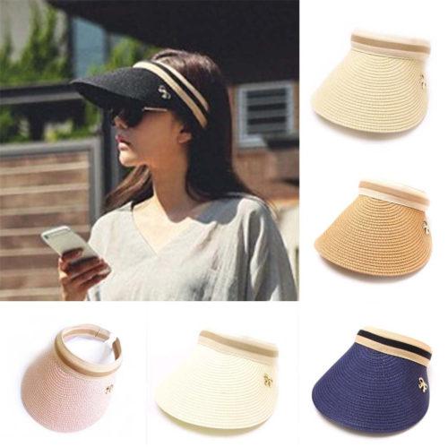 Sun Visor Cap Ladies Hat
