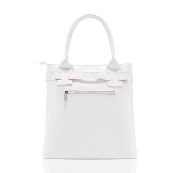 White Handbag Casual Bag