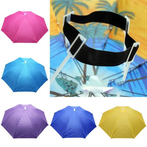 Hands Free Umbrella Sun Shade Hat