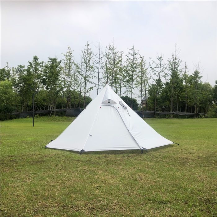 Outdoor Teepee 4-Person Camping Tent