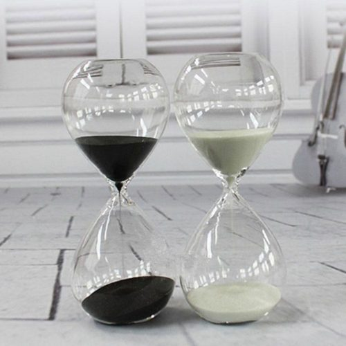 Hourglass Sand Timer Glass Decor