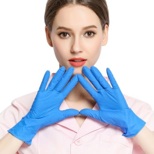 Disposable Gloves Nitrile Latex Gloves (20pcs)