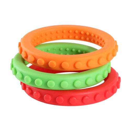 Teething Bracelets Kids Silicone Teethers (3Pcs)