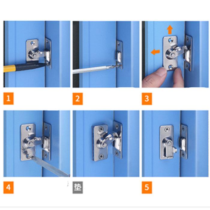 Sliding Door Lock Stainless Steel Lock
