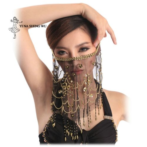 Face Veil Belly Dancing Costume