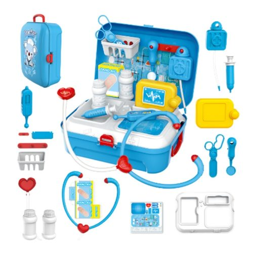 Toy Doctor Kit Backpack Play Set