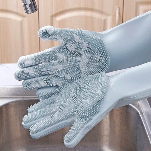 Hand Gloves for Kitchen Dish Scrubber
