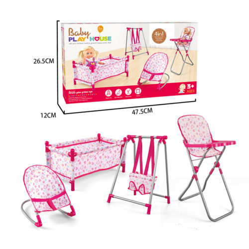 Baby Doll Furniture Play Set