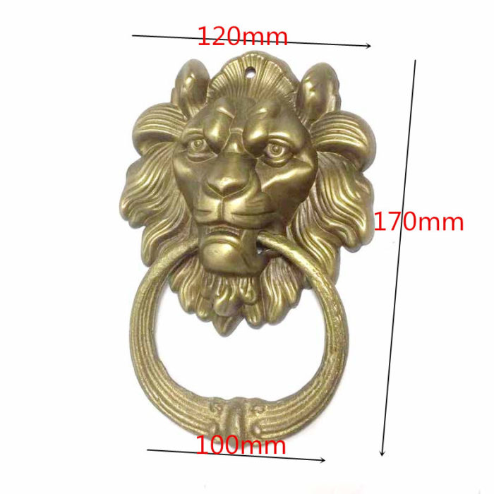 Lion Door Knocker Vintage Knob Decoration