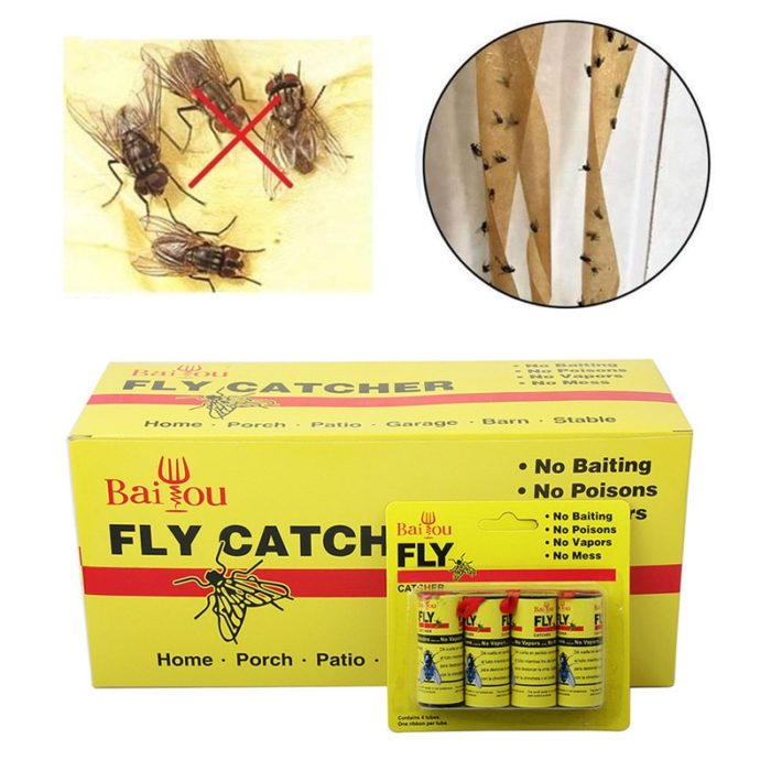 Fly Tape Flying Insect Adhesive Trap