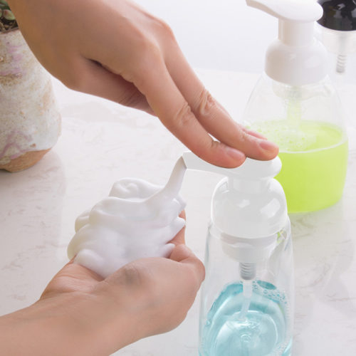 Foam Pump Bottle Travel Soap Dispenser