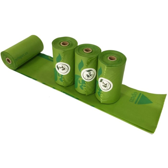 Compostable Dog Poop Bags (8/16 Rolls)