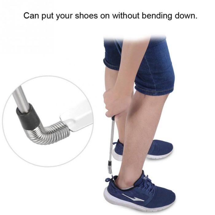 Long Shoehorn Retractable Handle