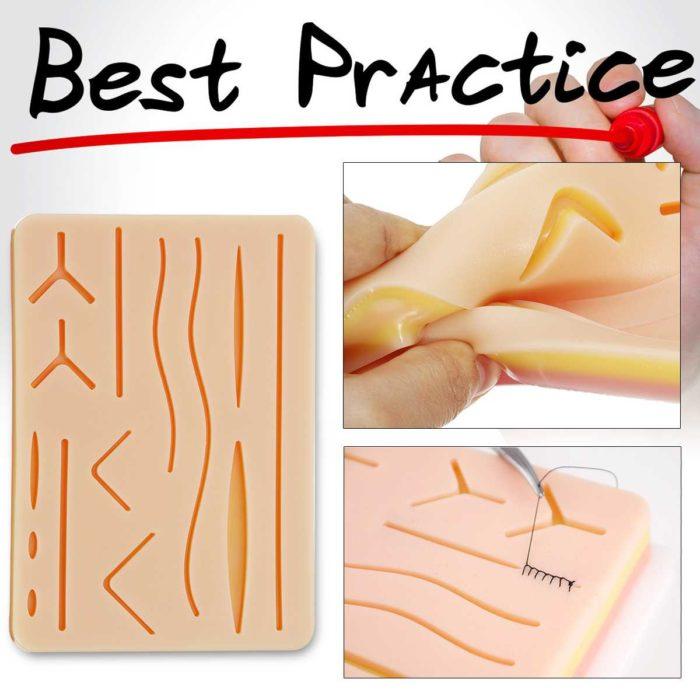 Suture Practice Kit 26-Piece Set