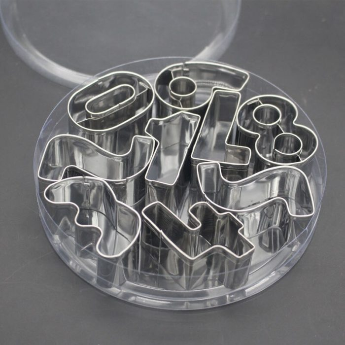 Alphabet Cookie Cutters Stainless Steel