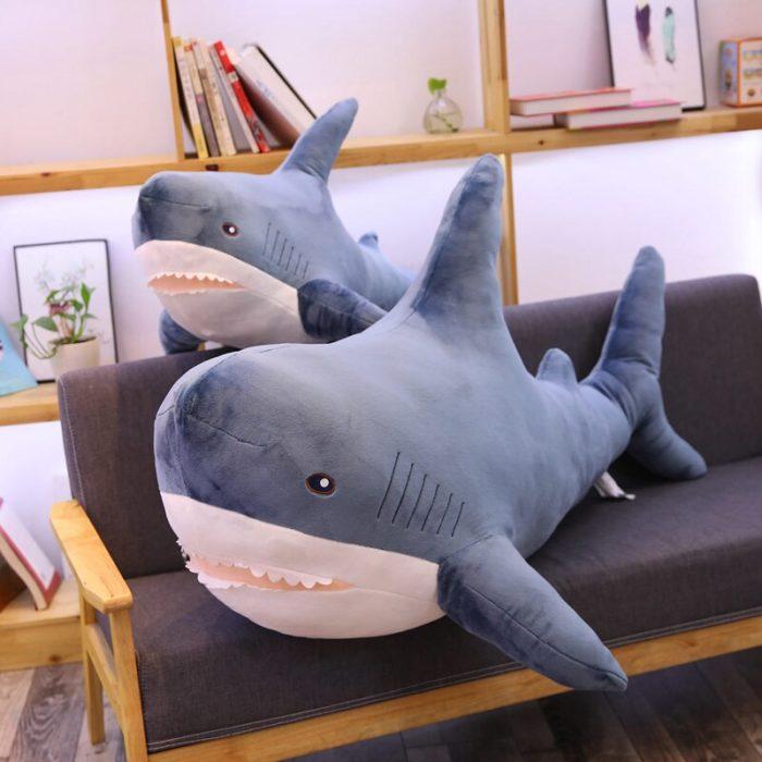 Shark Pillow Cute Plush Toy Pillow