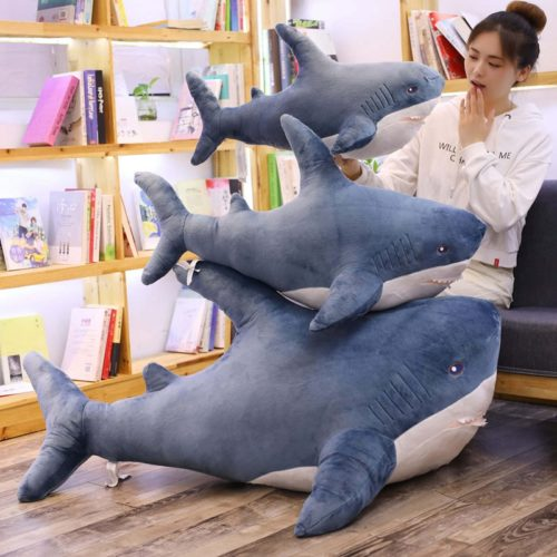 Shark Pillow Cute Plush Toy Pillow