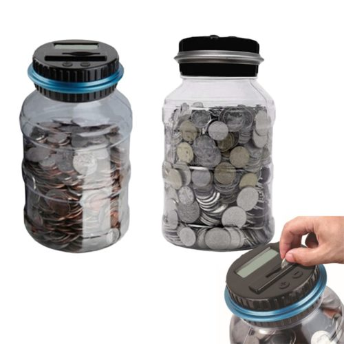 Change Counter Automatic Coin Piggy Bank