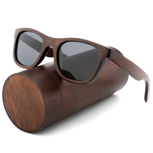 Wood Frame Sunglasses Eyewear