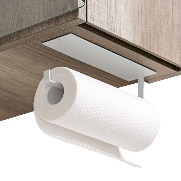 Kitchen Paper Towel Holder Self-Adhesive Holder