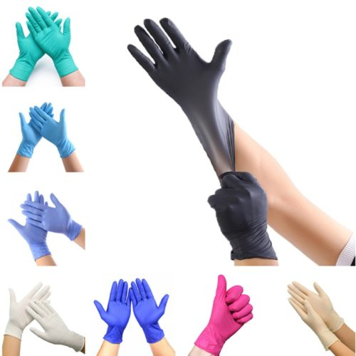 Disposable Nitrile Gloves Latex-Free Glove