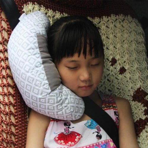 Seat Belt Cushion Head Support Pillow