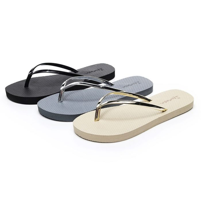 Ladies Flip Flops Casual Slippers