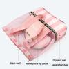 Bag with Shoe Compartment Shoulder Bag