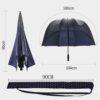 Dome Umbrella Transparent Front Sun Shade
