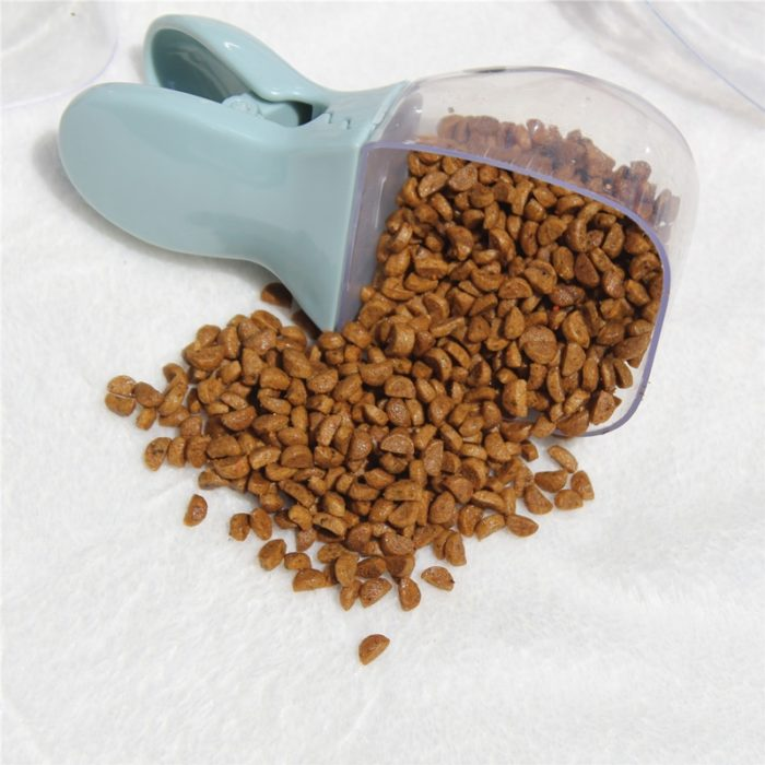 Dog Food Scoop Pet Feed Clip