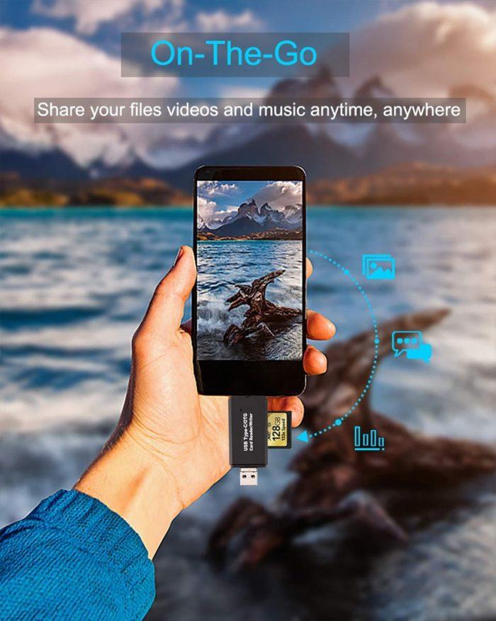 USB Memory Card Reader SD Card Reader